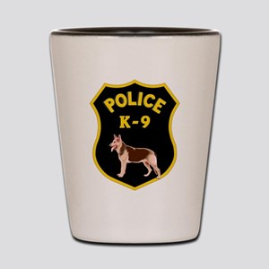 K9 Police Officers Shot Glass