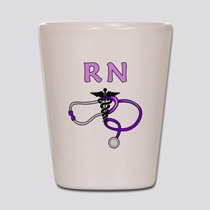 RN Nurse Medical Shot Glass