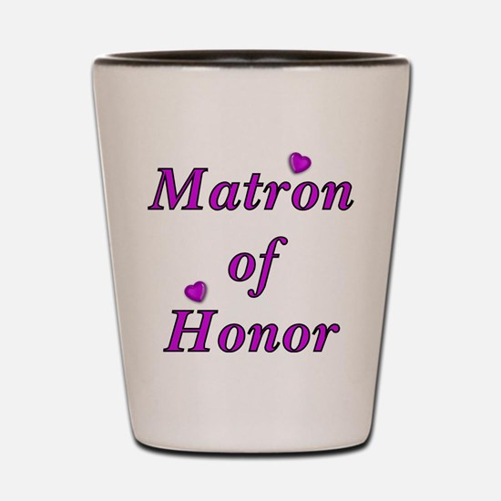 Matron of Honor Simply Love Shot Glass