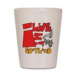 GoatLand Shot Glass