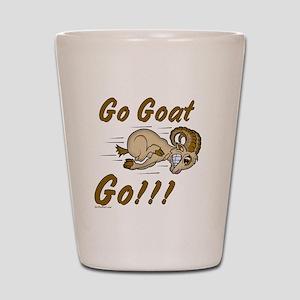Funny Go Goat GO Shot Glass