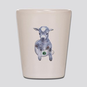 TeaCup Goat Shot Glass