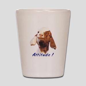 Boer Attitude! Shot Glass