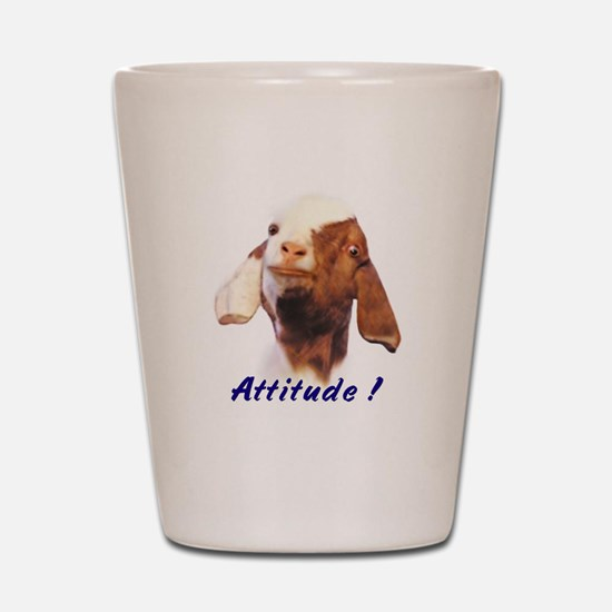 Boer Attitude! Shot Glass