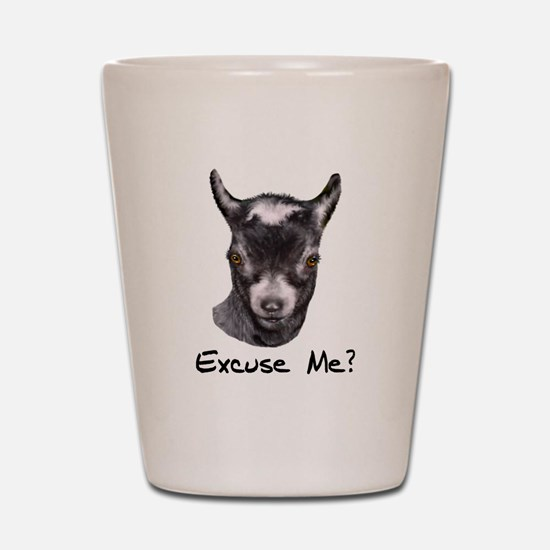 Pygmy Goat Excuse me? Shot Glass