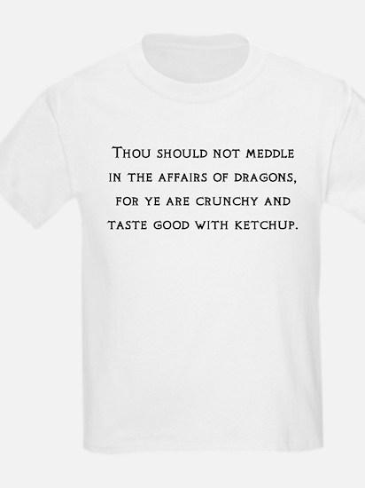 Dragon Affairs Kids T-Shirt