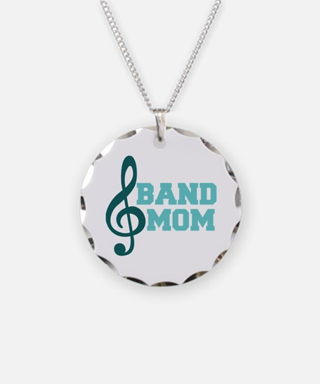 Treble Clef Band Mom Necklace