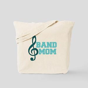 Treble Clef Band Mom Tote Bag