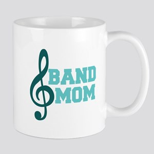 Treble Clef Band Mom Mug