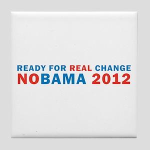 Real Change Tile Coaster