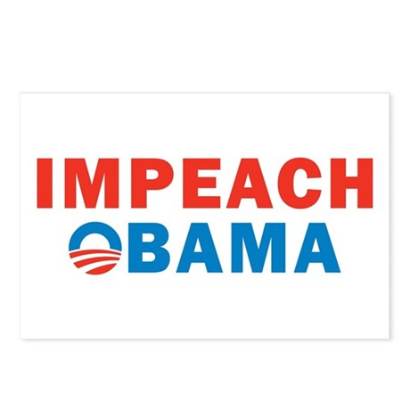 Impeach Obama Postcards (Package of 8)