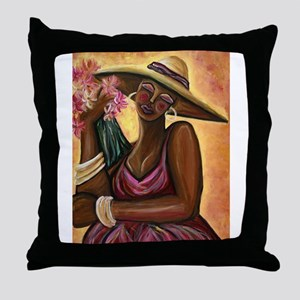 Beautiful Bouquet Throw Pillow