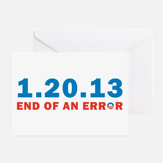 End Of Error Greeting Card