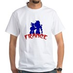 French White T-Shirt