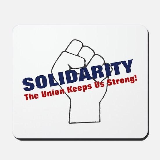 Solidarity - White State - Fi Mousepad