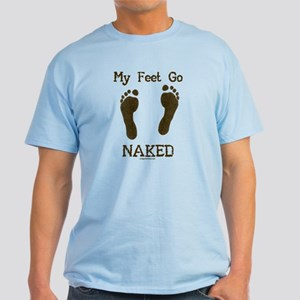 My feet go naked Light T-Shirt