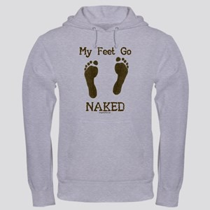My feet go naked Hooded Sweatshirt