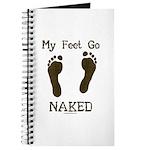My feet go naked Journal
