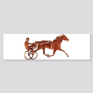 Brown Pacer Silhouette Sticker (Bumper)