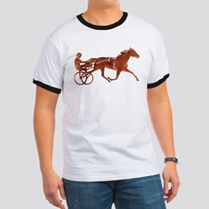 Brown Pacer Silhouette Ringer T