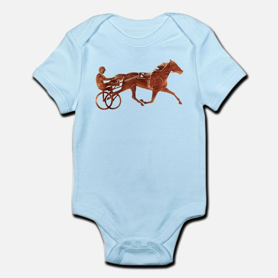 Brown Pacer Silhouette Infant Bodysuit
