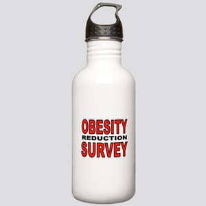 SKINNY IS FUN Stainless Water Bottle 1.0L