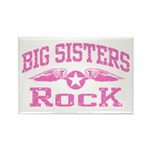 Big Sisters Rock Rectangle Magnet