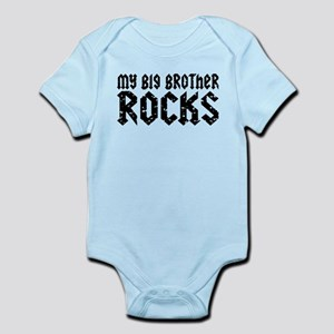 My Big Brother Rocks Infant Bodysuit