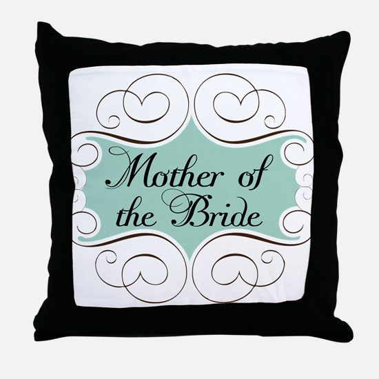 Mother of the Bride Beautiful Throw Pillow