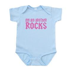 My Big Brother Rocks Infant Bodysuit