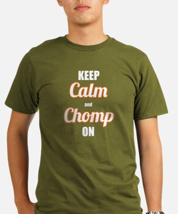 Men's Fitted CHOMP ON tee