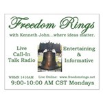 Freedom Rings Small Poster