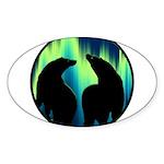 Northern Lights Tribal Bears Sticker