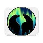 Northern Lights Tribal Bears Sherpa Fleece Throw B