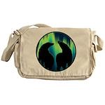 Northern Lights Tribal Bears Messenger Bag