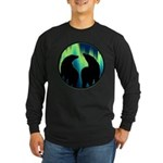 Northern Lights Tribal Bears Long Sleeve T-Shirt