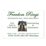 Freedom Rings Postcards (Package of 8)