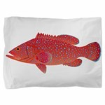 Coral Hind Grouper Pillow Sham