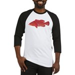 Coral Hind Grouper Baseball Jersey