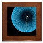 The Light At The End Of The Tunnel-Framed Tile