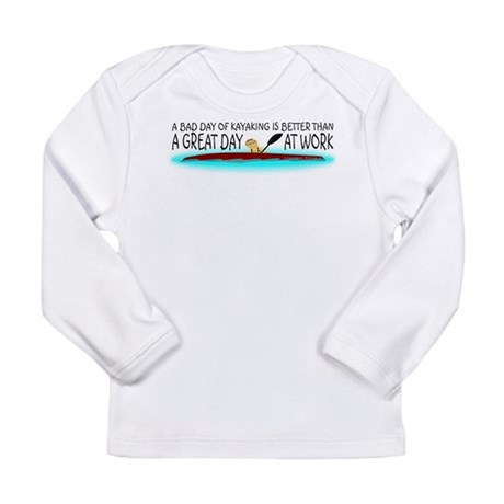 A Bad Day of Kayaking Long Sleeve Infant T-Shirt