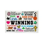 Quotes Rectangle Magnet (100 pack)