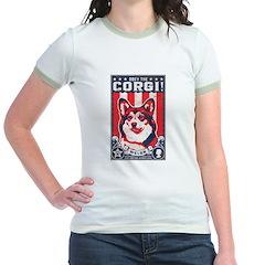 Obey the Corgi - Retro T