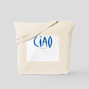 Ciao (Blue) - Tote Bag
