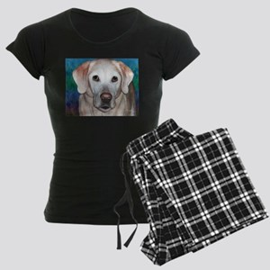 Yellow Lab Women's Dark Pajamas