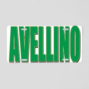 AVELLINO Aluminum License Plate