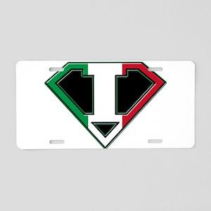 Italian superman Aluminum License Plate