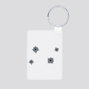 Insured by Mafia Aluminum Photo Keychain