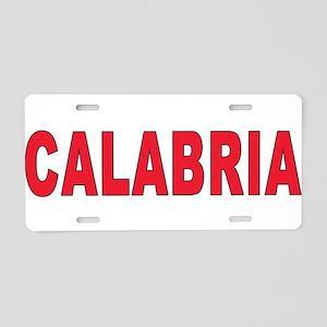 CALABRIA Aluminum License Plate