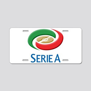 Italian Soccer league serie A Aluminum License Pla